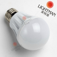 5pcs/lot 3W  LED Bulb 220V/240V e27 led lamp cold/warm white smd 2835 led Light spotlight free shipping