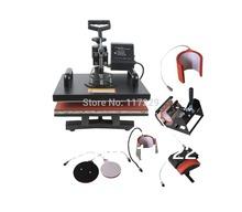 New Design Single Display  7 In 1 Heat Press Machine ,Mug/Cap/Plate/TShirt heat press,Sublimation machine,heat transfer machine