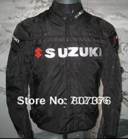 Free ship 1PC Suzuki Moto GP Oxford Nylon jacket.Motocross,racing,motorcycle,bicycle,moto jacket / clothing with 5pcs protector