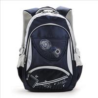Primary school students school bag 3 - 6 child school bag wear-resistant double-shoulder 6651 relief