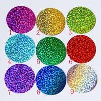 Free shipping colorful sequin paillette 5CM  laser clothes accessories dance clothes paillette diy accessories 40pcs/lot