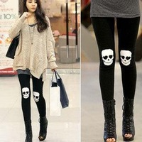 Legging 2014 spring and summer personality basic ankle length trousers fashion skinny pants