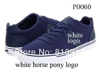 100 Style Free Shipping Polo Brand Canvas Shoes,Leisure Shoes Canvas Mens Sneakers Vulcanized Canvas Shoes POLO Logo