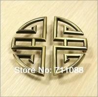 2pcs/lot  china style retro handle knob Kitchen Cabinet cupboard Furniture Handle knob diameter 96mm