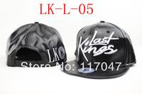 new arrival last kings leather hat snapback hats lk cap baseball caps