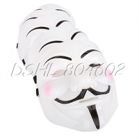 5x Fancy Anonymous Cosplay Halloween Costume Mask Prop Disco