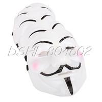 5x Fancy Anonymous Cosplay Halloween Costume Mask Prop Disco