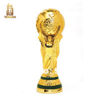 Hot Sale New 2014 World Cup Trophy Specification 1:1 Souvenir Trophy Cup Resin Hercules Cup DL1