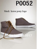 2014 Hot! High / low canvas shoes to help men's polo. Size:. US8-US12 Free Shipping