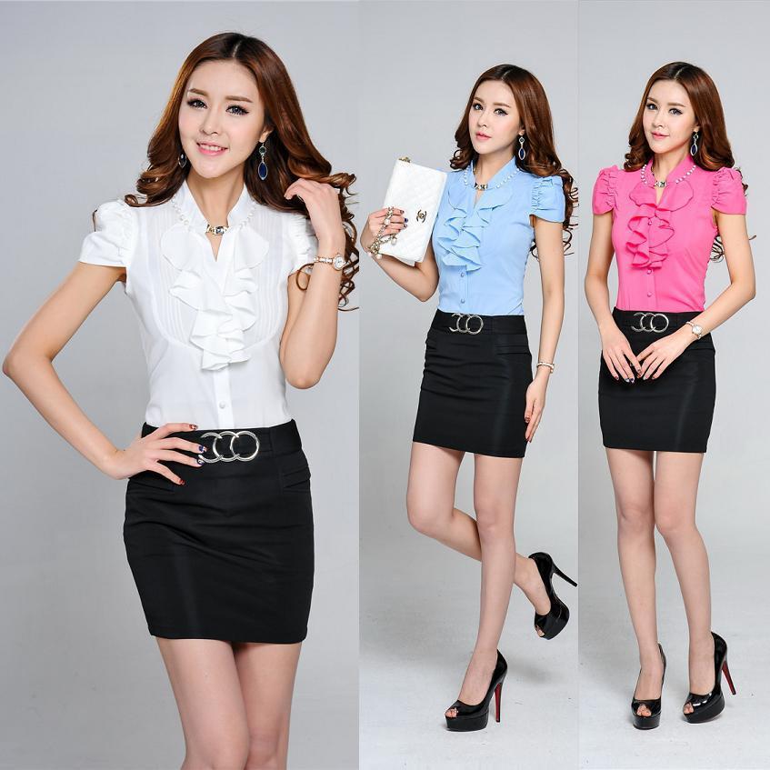 Ladies Formal Skirt And Blouse - Model Blouse Batik
