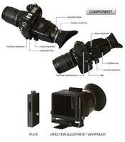 GGS SWIVI Gen II 3X / 1:1 Foldable LCD Viewfinder for Canon 650D 7D 5D Mark III