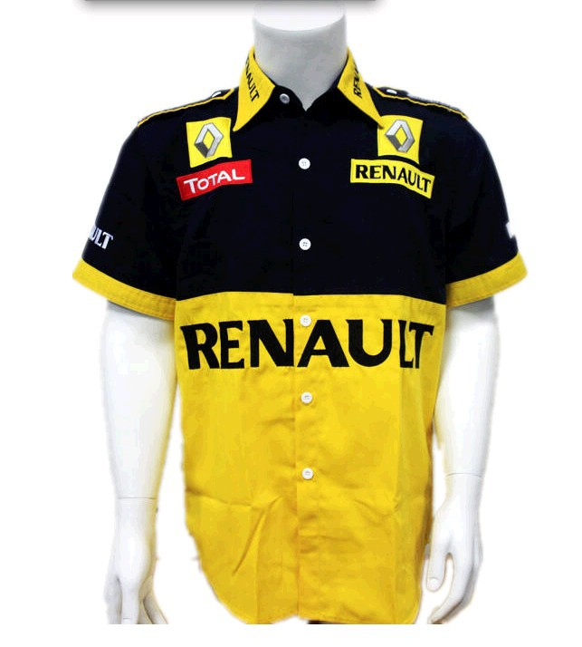Discount F1 Racing Team Uniforms Famous Car Brand Logo Red