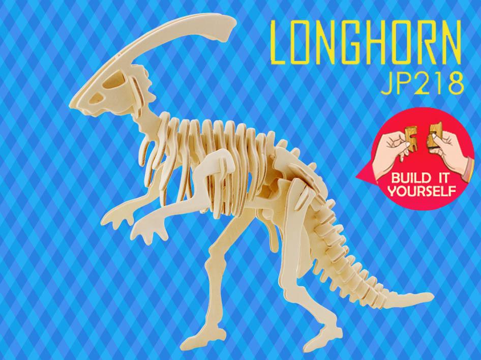 Детский набор для моделирования Robotime 3D Longhorn & & Peacock детский набор научный эксперимент if the state of science and technology robotime 3d 240
