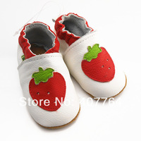 2014SAYOYO COW LEATHER BOY & GIRL CRIB BABY TODDLER SHOES 0-6,6-12,12-18,18-24 MTHS 09