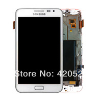 free shipping for samsung Galaxy Note GT-N7000 LCD Touch Screen Display Digitizer Touch -White B