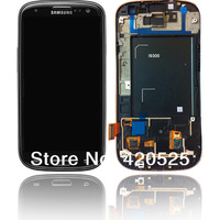 free shipping for samsung Galaxy s3 i9300 LCD touch display screen digitizerlens