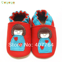 2014SAYOYO COW LEATHER BOY & GIRL CRIB BABY TODDLER SHOES 0-6,6-12,12-18,18-24 MTHS 16