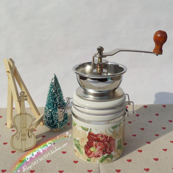A-2 caixinha de mão máquina de moer café moedor moedor de café manual grãos de café incenerator(China (Mainland))