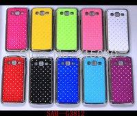 Free Shipping! Bling Star Diamond Chrome Hard Back Case Cover for Samsung Galaxy Win Pro G3812/Galaxy Express 2 G3815, SAM-183