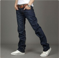 Classical Man's Denim Jeans Straight Jeans Pants for men 2014 Brand New,size 28-40 wholesale free shipping.MJ-04065