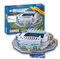 3D Puzzle Model Chelsea FC Football Club Home Stamford Bridge Stadium London For Adults