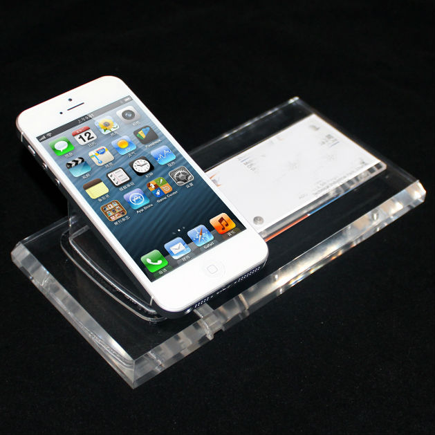 Free Shipping Mobile Anti-theft Security Phone Display Holder security alarm w