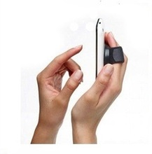 Black Universal Portable Finger Stand Holder For Smartphones And MP3 Players