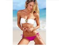 2014 Fashion Womens Bikini Set Swimwears Vintage Swimsuits for Women Sexy New Bathing Suit Crystal Brand Bikinis Rhinestones3035