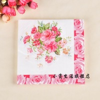 Multicolour tissue table napkin paper table napkin paper tissue print table napkin paper tissue b96