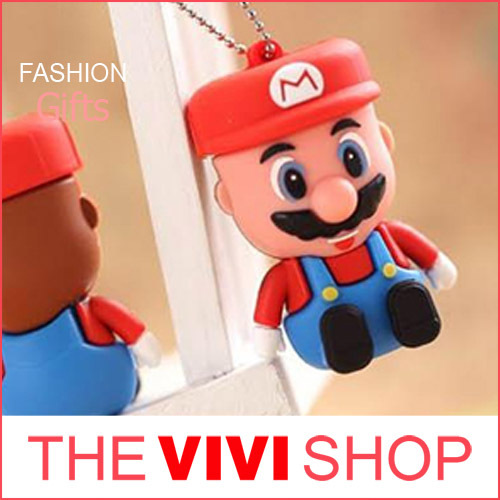 Hot sale High Quality 8-64GB Fashion Gift Cartoon Super Mario USB 2.0 memory flash drive pen stick(China (Mainland))