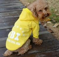 Pet Clothes FBI Working Dog USA Dog Hoodie Coat Soft Clothes Dog Clothing