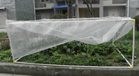 "Mosquito Bug Insect Bird Net Barrier Hunting Blind Garden Netting to Protect Plant Fruits Flowe r47""x35""x20""(Frame Not Include)"