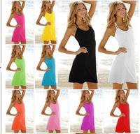 Free shipping women dress skirt sexy bikini beachwear free shipping swimwear cover up style 2013 new summer gift fit slim