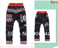 new free shipping kids jeans cartoon clothing boy jeans pants children's trouses boy jeans wholesale 1lot=4pcs