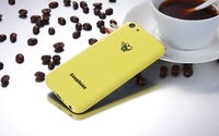 Goophone i5C - 4 Inch Screen Dual-core CPU Android Phone - Yellow