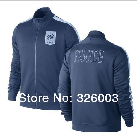 Yeni 2 014 fransa futbol ceketler port eğitim spor erkek futbol spor