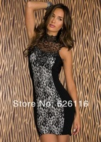 The new summer 2014 lace sleeveless sexy dress2882