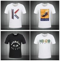 2014 summer tiger head brand men's short sleeve shirt fashion Round neck t-shirt cotton casual tshirt hiphop tshirt unisex FS063