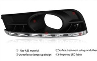 LED DRL 2010 2012 2013 Cherolet Cruze daytime running lights with white light Free shipping