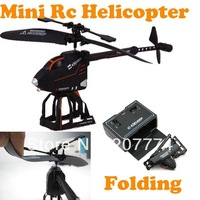 2014 New Arrival Mini Folding 2.5 Channel Remote Control Deformation RC Helicopter Toys S125 with Gyro