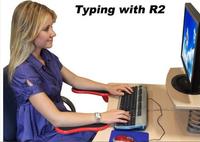 RestMan Computer Arm Support Rest Chair/Desk Armrest Ergonomic Mouse Pad Rest&Play!