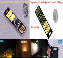 Acampar energía móvil de la lámpara de luz LED lámpara de noche Nuevo MINI Touch Interruptor USB(China (Mainland))