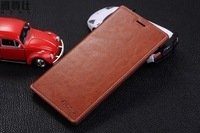 High Quality Leather Case For Lenovo K900 Cover Function Lenovo K900 Case Free Shipping