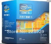 100%  NEW original Intel core 2 i5-3570 box CPU (LGA1155/3.4GHz/6M three level cache is /77W/22 nm)