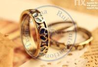 rings finger Fashion popular Jewelry for women Girl's peace mark 3pcs/set vintage design CN post