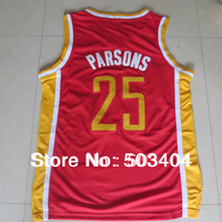 #25 Chandler Parsons Throwback Embroidery Lgos Wholesale 2014 New Authentic Stitched Mens Basketball Jerseys High Quality Jersey