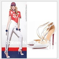 2015 Sapatos Femininos High Heel Shoes Blasting With Europe And The United States Stunner Joker Cross With Stiletto High Quality