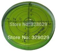 Wholesale Multipurpose Spirit Level Horizon Level Vial Bubble Universal Level Free shipping 65*10mm