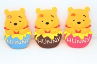wholesale 10pcs/lot 2014 New 3D newest winnie bear pooh silicon case for iphone 4 4S 5 5S 5G with retail package free shipping