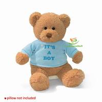 """""""It's a boy""""   Blue Plush Teddy Bear,  Idea for Gift"""